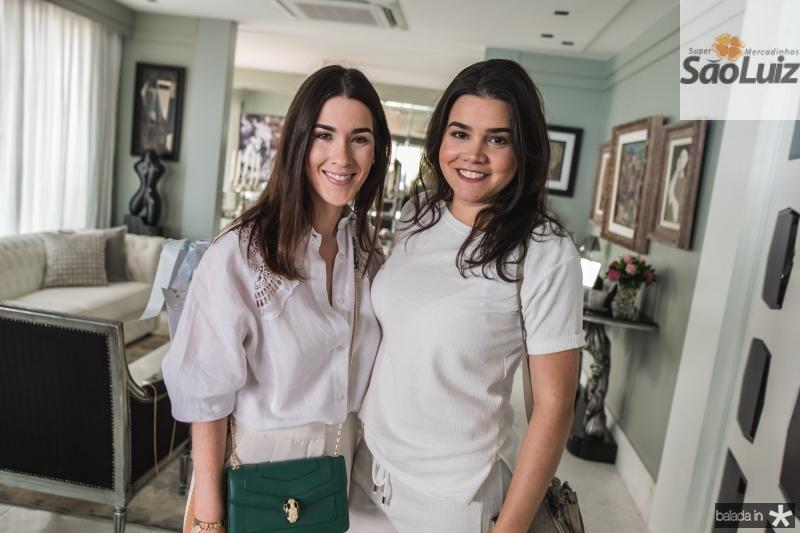 Sarah Brasil e Priscila Leal