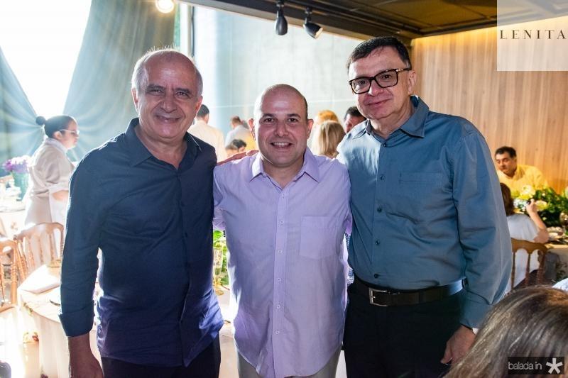 Huygens Garcia, Roberto Claudio e Antonio Barroso