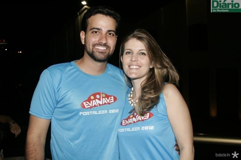 Lucas Azevedo e Ueline Landim