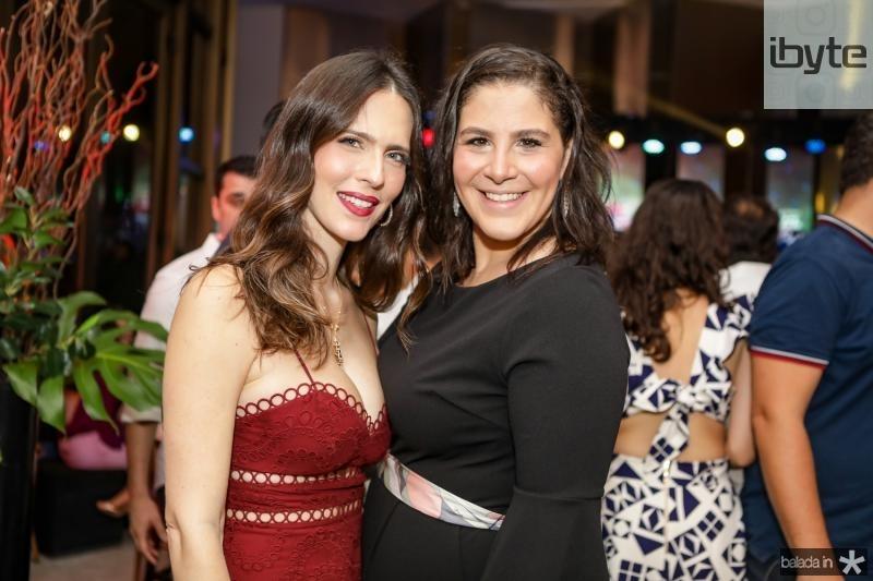 Marcela Porto e Carol Ary