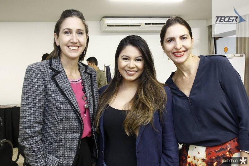 Alessandra Romano, Luiza Dantas e Edna Camara