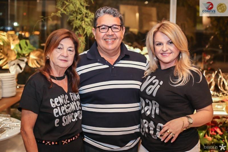 Alcir Pontes, Francisco Barroso e Conceiçao Almeida