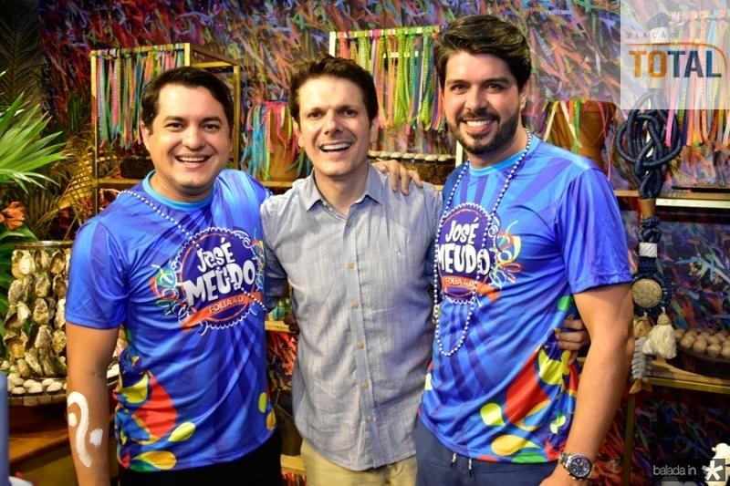 Regis Vieira, Jose Meudo e Armando Barroso
