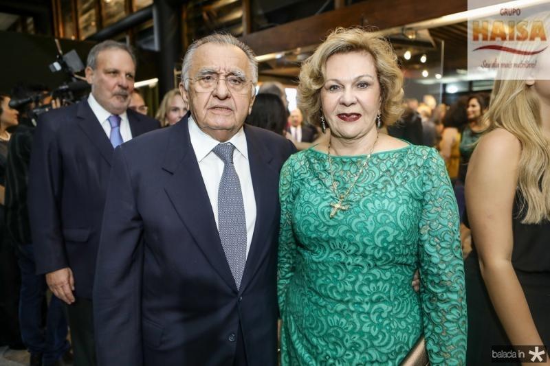 Joao Carlos e Auxiliadora Paes Mendonça