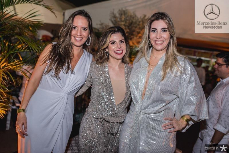 Giselle Bezerra, Carol Bezerra e Maria Celia Gomes