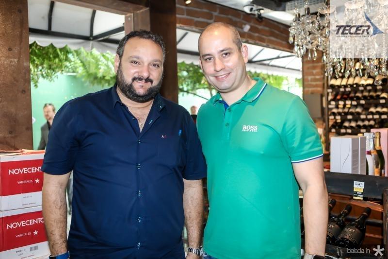 Patriolino Dias e Andre Linheiro