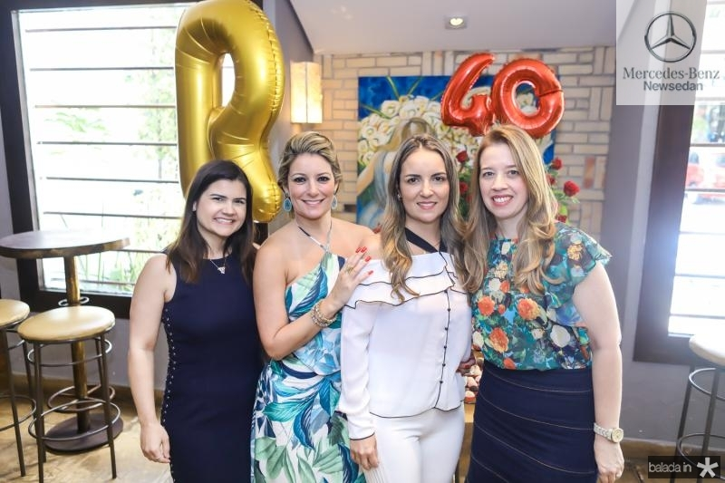 Ticiana Brigido, Raquel Vasconcelos, Tatiana Luna e Marina Vale
