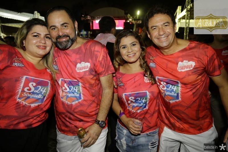 Kelly e Pedro Edson Ferreira, Micheline e Dimas Rufino