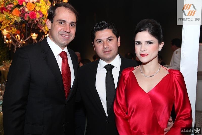 Salmito Filho, Pompeu e Marilia Vasconcelos