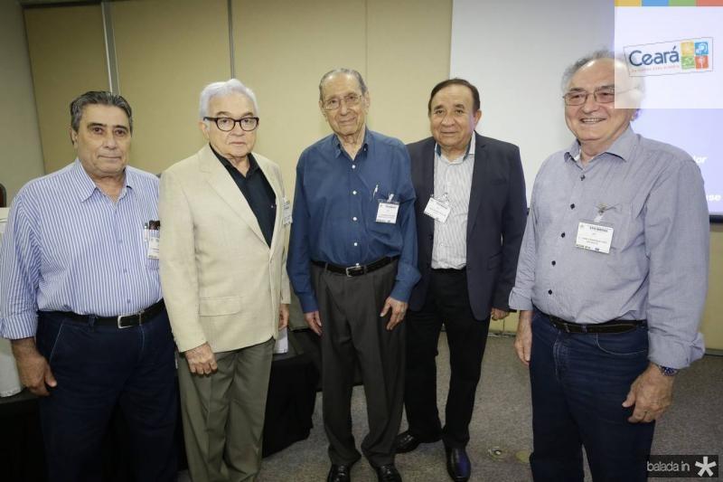 Roberto Misici, Vicente Leitao, Gilmario Mourao, Valdeney Rolim e Henrique Cardoso
