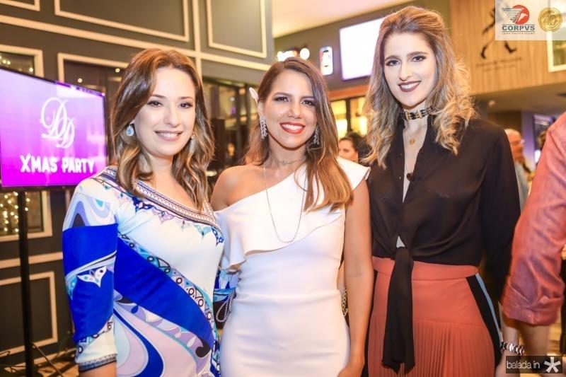 Silvinha Leal, Ana Carolina Fontenele e Rebeca Leal