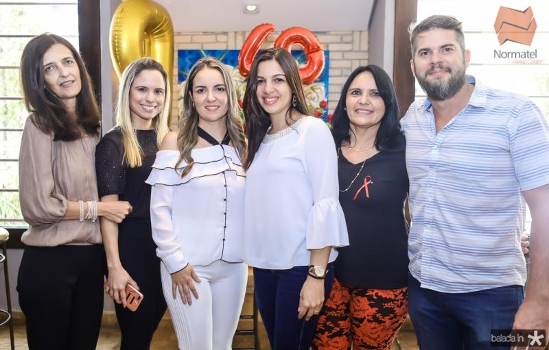 Lohana, Raquel, Monaliza, Cristina e Francelio