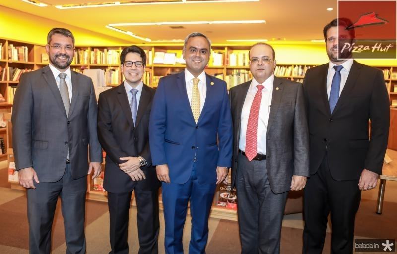 Silvio Aguiar, Andrei Aguiar, Marcelo Mota,Ibanes Rocha e Pedro Bruno
