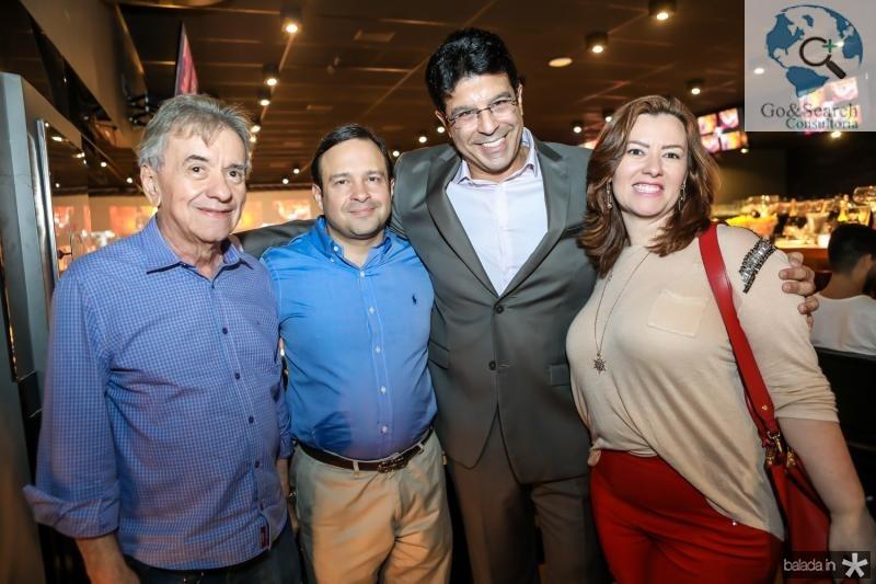 Majela Felix, Igor Barroso, Ronaldo Otoch e Aline Barroso
