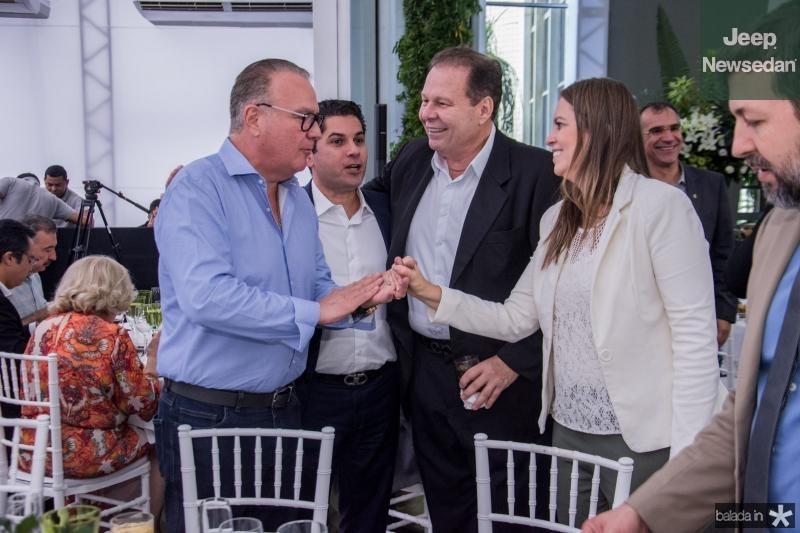 Chiquinho Feitosa, Pompeu Vasconcelos e Julio Ventura