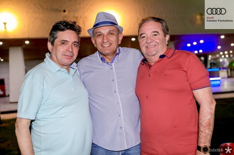 Totonho Laprivitera, Licinio Correia e Chiquinho Aragao