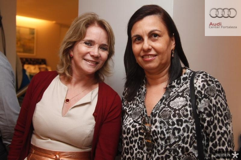 Sophia Linhares e Marcia Albuquerque