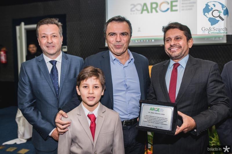 Fernando Alfredo Franco, Nicolas Franco, Juvencio Viana e Helio Winston