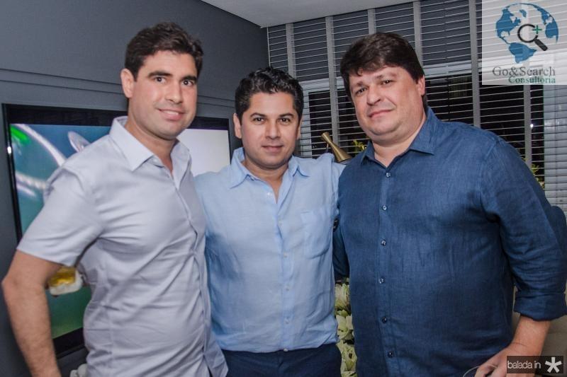 Bruno Barreira, Pompeu Vasconcelos e George Lima