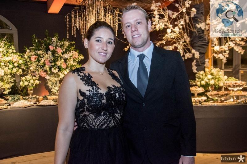 Taiana Cavalcante e Davi Araujo