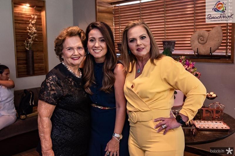 Rosa Virginia, Claudiana Loureiro e Teka Leitao