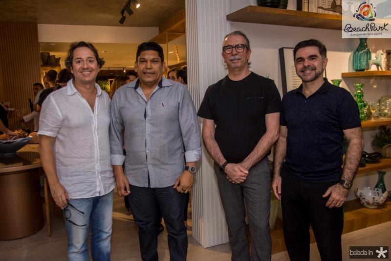 Rodrigo Parente, Francisco Bandeira, Eugenio Vieira e Isaac Furtado