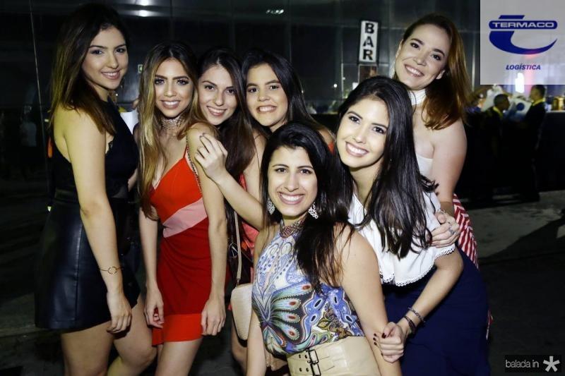 Monique Fernandes, Germana Esmeraldo, Maria Alice, Daniela Neves, Madeline Medeiros, Isadora Militao e Vitoria Moreira