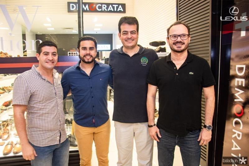 Mark Macedo, Rodrigo Nobrega, Delano Sobreira e Alvaro Guimaraes