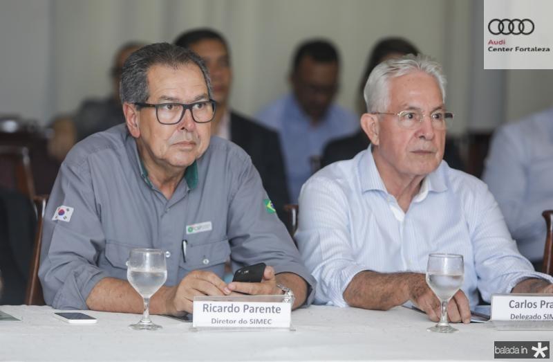 Ricardo Parente e Carlos Prado
