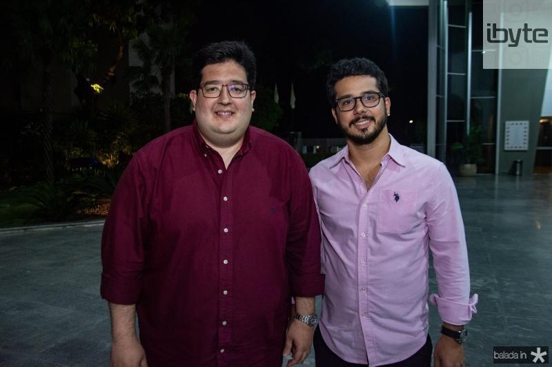 Iure Torquato e Rafael Fujita