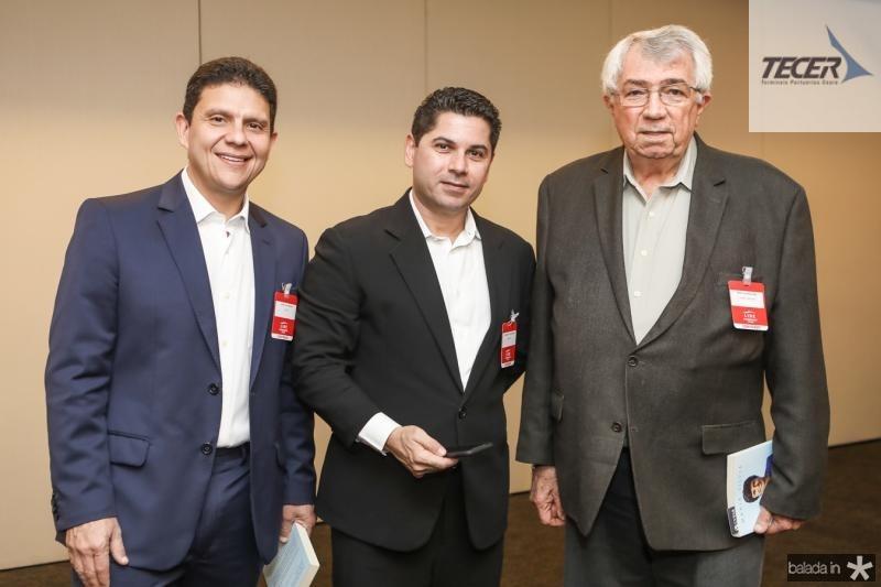Anderson Rocha, Pompeu Vasconcelos e Roberto Macedo