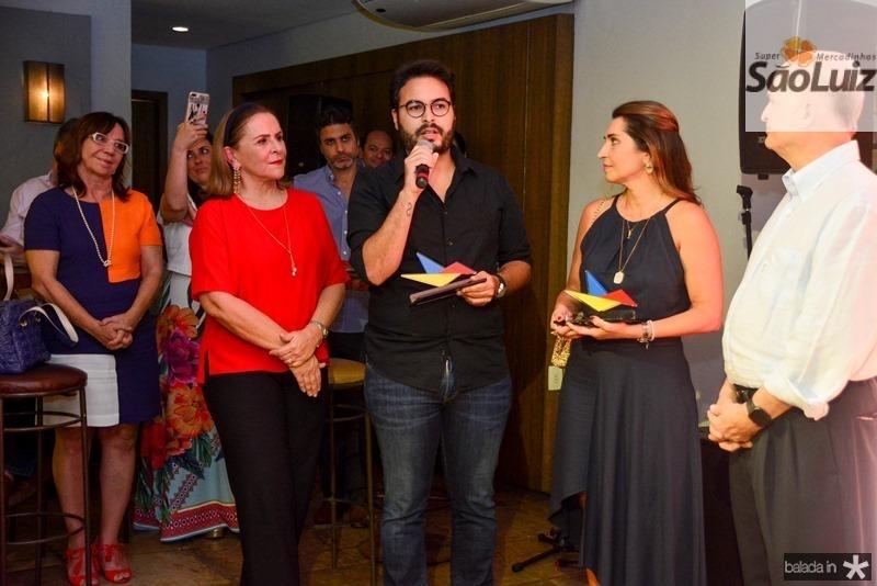Beatriz Fiuza, Vinicius Machado, Marcia Travessoni e Lauro Fiuza (