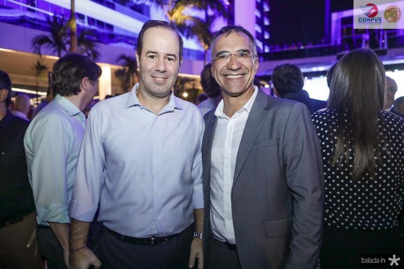 Cesar Ribeiro e Eduardo Neves