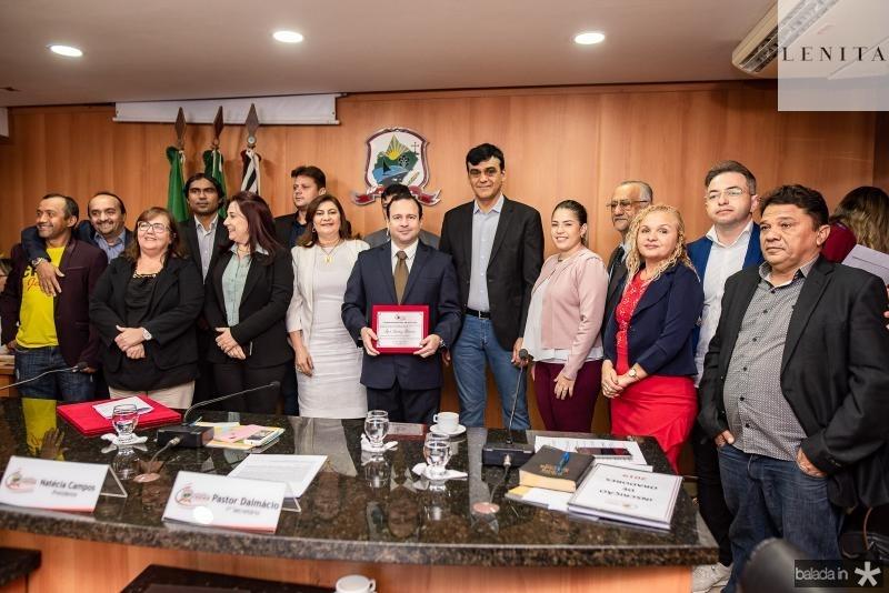 Igor Queiroz Barroso e Homenagiado Cidadao de Caucaia (