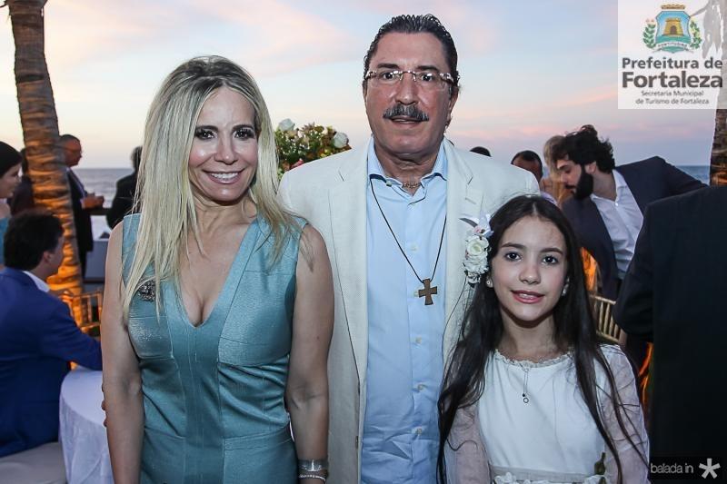 Vladia, Pedro e Nina Brandao