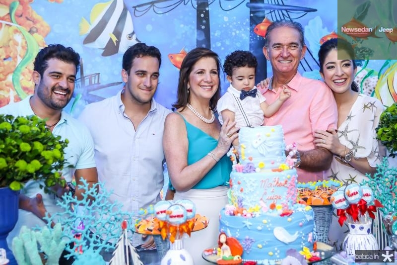 Guilherme Becco, Ricardo Brasil, Ana Barroso, Matheus Becco, Ricardo Barroso e Mila Becco