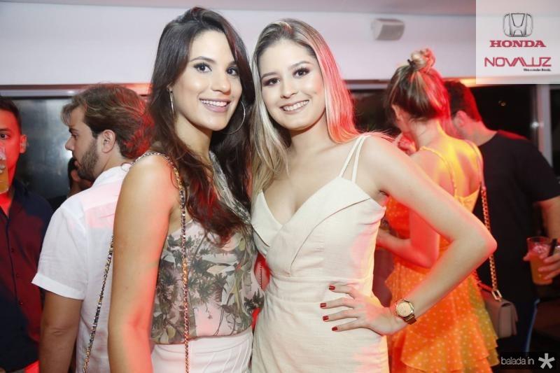 Gabriela Lopes e Vitoria Viana