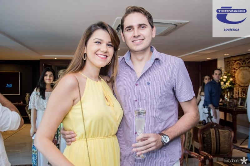 Mariana Barros e Dircel Pinheiro