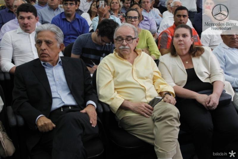 Oto de Sa Cavalcante, Edinilton Soares e Fernanda Pessoa