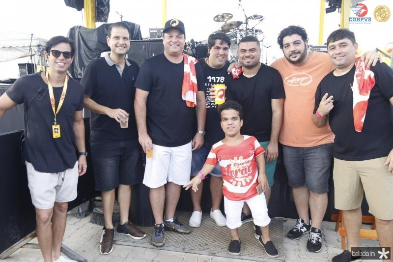 Italo Girao, Celso Luiz, Enio Cabral, Yuri Cordeiro, Julio Anbev, Juninho Anao, Magno Toy e Renato Barbosa