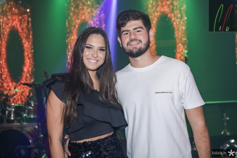 Mila Twardy e Michel Ferraz
