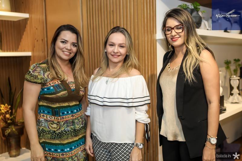 Cristina Maia, Veronica Martinez e Marilia Mendes