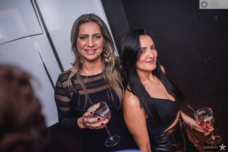 Erica Silva e Niar Pereira
