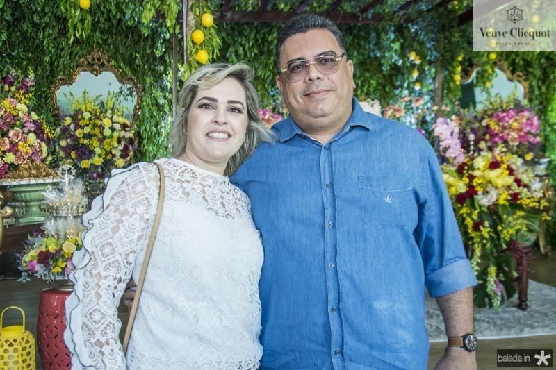 Fernanda Albuquerque e Giovanni Oliveira