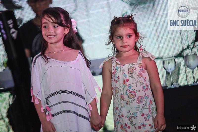 Olivia Carvalho e Athina Leal