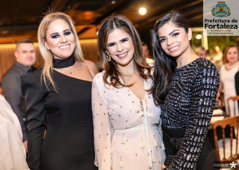 Adriana Lira, Niedja Bezerra e Isabele Timoteo
