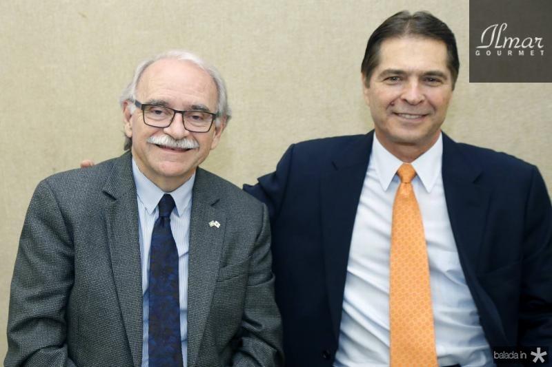 Ednilton Soarez e Alan Baldacci