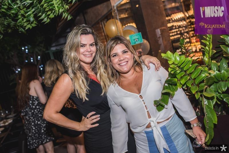 Lana Pinheiro e Gisela Vieira