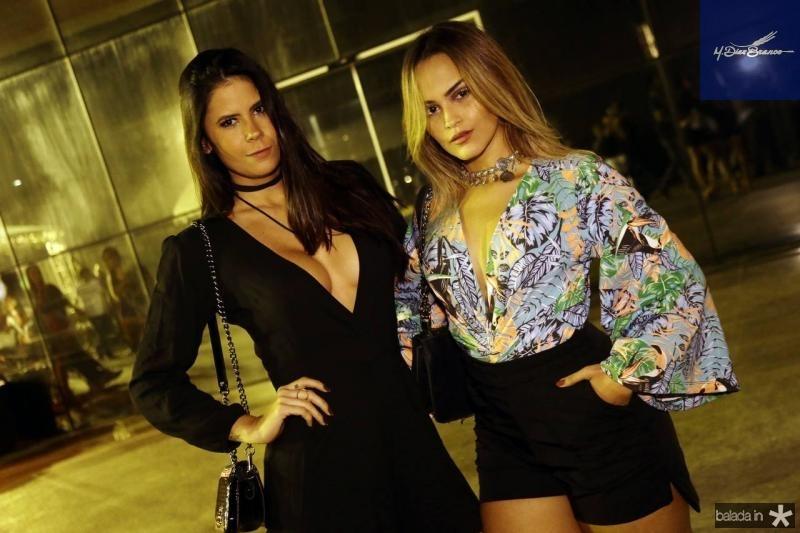Camila Araujo e Bruna Santiago