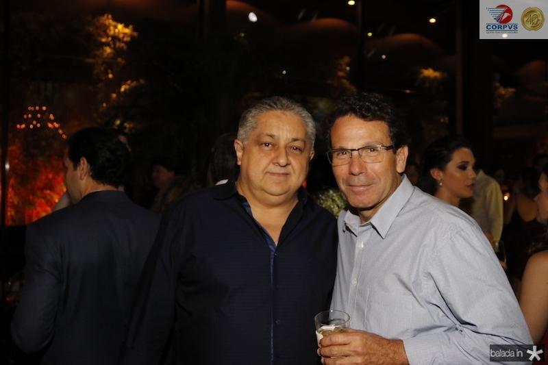 Adriano Pinto e Flavio Studart